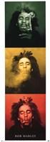 Bob Marley  - 3 Pics Wall Poster