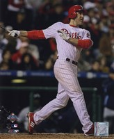Chase Utley Game three of the 2008 MLB World Series Home Run Fine-Art Print