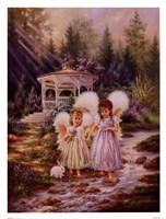 Angel Sisters Fine-Art Print