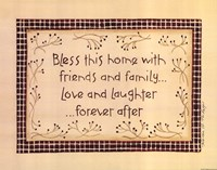 Bless This Home Fine-Art Print