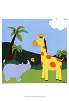 Jungle Jamboree I Fine-Art Print