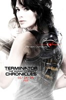 Terminator: The Sarah Connor Chronicles - style AZ Wall Poster