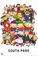 South Park - style A Fine-Art Print