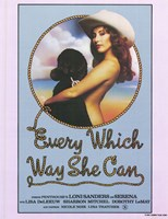 Every Which Way She Can, c.1981 Fine-Art Print
