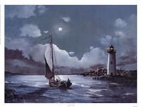 Moonlit Sail Fine-Art Print