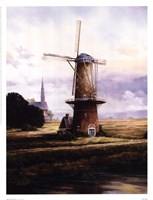 Francis Mastrangelo - Breeze Over Zeeland Fine-Art Print