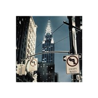 Manhattan - no turn signs Fine-Art Print