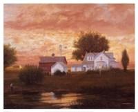 Farm Pond Reflections Fine-Art Print