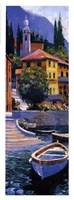 Lake Como Crossing Panel I Fine-Art Print