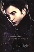 Twilight - Edward, Broken Glass Wall Poster