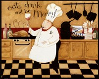 Eat, Drink & be Merry Fine-Art Print