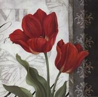 Etude en Rouge II - mini Fine-Art Print