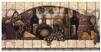 Wine, Fruit, 'N Cheese Pantry Fine-Art Print
