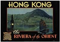 Hong Kong - Riviera of the Orient Fine-Art Print