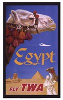 Egypt - Fly TWA Fine-Art Print