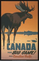 Canada - For Big Game Fine-Art Print