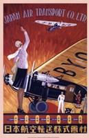 Japan Air Transport Fine-Art Print