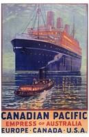 Canadian Pacific - Empress of Australia Fine-Art Print