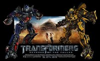 Transformers 2: Revenge of the Fallen - style D Fine-Art Print