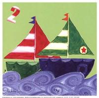 Two Ships Fine-Art Print