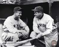 Lou Gehrig & Babe Ruth Posed Fine-Art Print