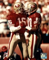 Jerry Rice / Joe Montana - Group Shot  (#2) Fine-Art Print
