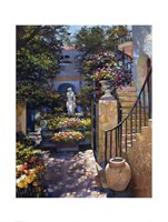 Palm Beach Flower Garden Fine-Art Print