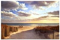 Sunset Beach Fine-Art Print