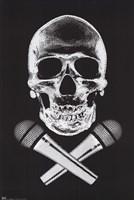 Skull Wall Poster