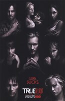 True Blood - RARE Season 2 Character Poster Fine-Art Print