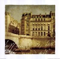Golden Age of Paris III Fine-Art Print