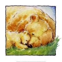 Mother Bear's Love II Fine-Art Print
