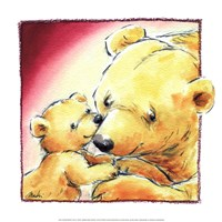 Mother Bear's Love III Fine-Art Print