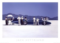 Bluebird at Bonneville Fine-Art Print