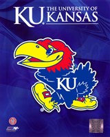 2009 University of Kansas Jayhawks Logo Fine-Art Print