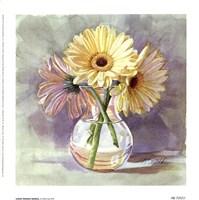 Lemon Sherbert Gerbera Fine-Art Print