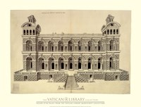 Facade d'un Palais, (The Vatican Collection) Fine-Art Print