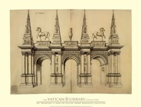 Facade avec Elephants, (The Vatican Collection) Fine-Art Print