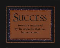 Success quote Fine-Art Print