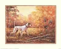 Hunting Dog Fine-Art Print