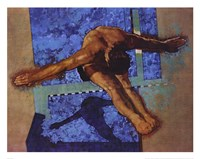 Olympic Diver Fine-Art Print