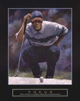 Focus - Golf Fine-Art Print