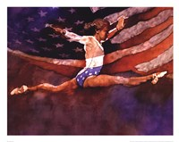 Olympic Gymnast Fine-Art Print