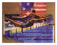 Olympic Swimmers Fine-Art Print