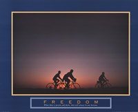 Freedom - Family Biking Fine-Art Print