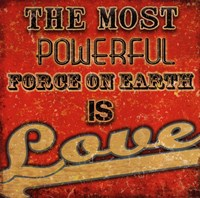 Love - Retro Fine-Art Print