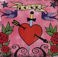 Love - Tattoo Fine-Art Print