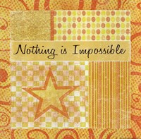 Nothing Is Impossible Fine-Art Print