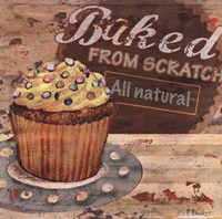 Baking Sign II Fine-Art Print