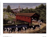 Cows In West Arlington Fine-Art Print